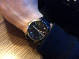 "men s armani exchange watch ax2101 watch shop comâ""¢ i bought this watch for my son he is really pleased the design of the watch he states its is comfortable stylist modern and different to his other"