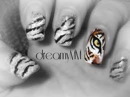 Tiger's Eye Nail Art Tutorial - YouTube