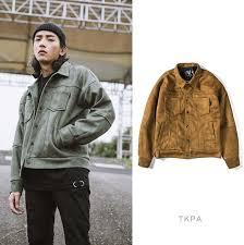 tkpa men motorbike jackets suede leather vintage clothing streetwear jacket hip hop style casual loose coats er leather jacket jacket leather from