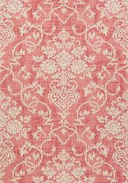 ALICIA, Raspberry, T89125, Collection Damask Resource 4 from Thibaut