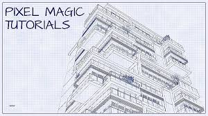 architecture blueprints wallpaper. Turn A Into An Architectural Blueprint Shop Tutorial Architecture Blueprints Wallpaper