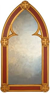 large arched mirror. Traditional Gothic Arch Mirror In Arched Large Ferailles A