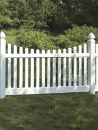 Scalloped vinyl picket fence Cape Cod 4 8 New Bedford Picket Contemporary De Scallop White Fencing Direct Vinyl Pvc Fence Products Fencing Direct Fencing Products