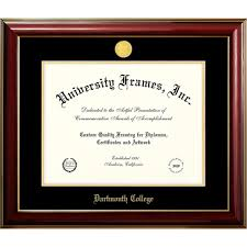 dartmouth college classic diploma frame dartmouth college  dartmouth college classic diploma frame