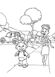 Sid And Mom Coloring Pages For