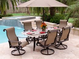 swivel rocker patio furniture sets attractive astounding set with chairs wicker throughout 18