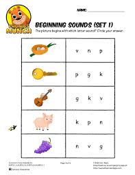 A collection of english esl worksheets for home learning, online practice, distance learning and english classes to teach about phonics, phonics. Beginning Sounds Phonics Worksheet