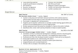 Example Of Resume Format For Job Examples Of Job Resume Examples Of ...