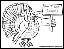 Small Picture Thanksgiving Coloring Pages Printouts Printables Turkey