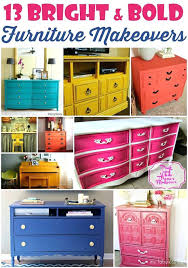 colorful painted furniture. Wonderful Painted Bright Painted Furniture Love All Of These Bold Pieces Makes  Such A Statement Domestic   Throughout Colorful Painted Furniture C