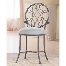 metal vanity stool. Fine Metal Inside Metal Vanity Stool A