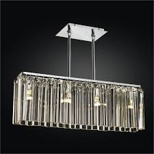 by christina from toronto linear glass chandelier wind 620 by glow lighting