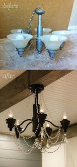 diy chandelier chain cover master makeover a transformation modern living room full size