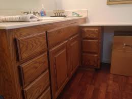 Home Decor Bathroom Cabinets Paint Stain DIY