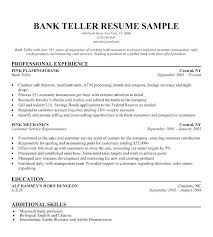 Resumes For Bank Jobs Sample Resume For Bank Jobs With No Experience ...