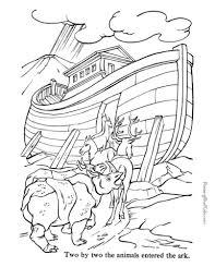 19 noahs ark coloring pages. Printable Bible Coloring Page Noah S Ark