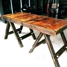 ikea sawhorse desk sawhorse desk legs table house and wood