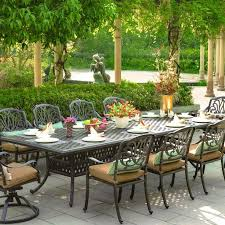 patio furniture design ideas. add elegance to your outdoor dining with this cast aluminum patio set from darlee the furniture design ideas e