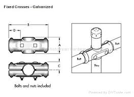 chain link fence post sizes.  Sizes Chain Link Fence Post And Pipe Clampsfixed Crosses With Chain Link Fence Post Sizes