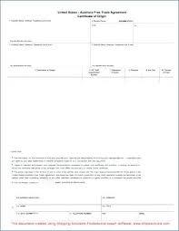 Certificate Of Origin Template Puebladigital Net