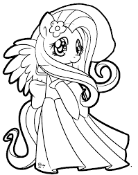 Small Picture Princess And Her Wedding Dress Coloring Page Super Coloring