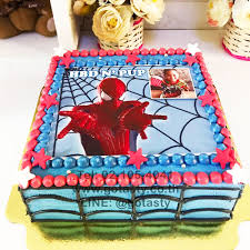 Surprise Spiderman Cake For Boy Gotasty