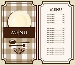 blank menu template free download restaurant menu templates free download blank forms
