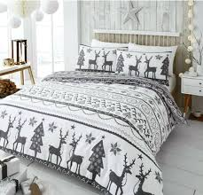 its not too late to a bedding set get you festive sets asda candy cane printed cotton 4 piece bedding sets