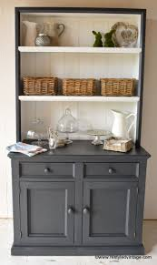 hutch kitchen furniture. restyled vintage hamptons style buffet and hutch kitchen furniture