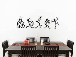 stick men living room dining