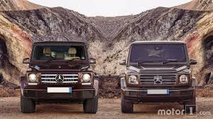 Mercedes Model Comparison Chart 2019 Mercedes Benz G Class See The Changes Side By Side