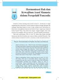 Kunci jawaban pkn kelas 11 tugas mandiri 1.1 halaman 7. Bab 1 Harmonisasi Hak Dan Kewajiban Asasi Manusia Dalam Perspektif Pancasila Pdf
