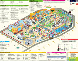 Pleasure beach blackpool map