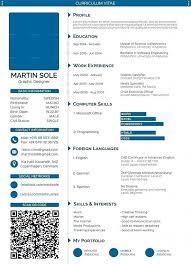 Template European Cv Template Word Professional Curriculum Vitae