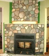 faux rock for fireplace fake stone fireplace small of sleek pioneering faux rock fireplaces surround kits