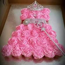 Princess Dress Cupcake Cake Tutorial Recipe Video Instructions