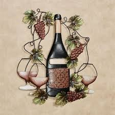 port classique wine bottle wall art port on wine and grapes metal wall art with port classique wine bottle metal wall art