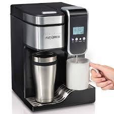 Best Electric Coffee Maker Hamilton Beach Flexbrewr Programmable Single Serve Coffee Maker