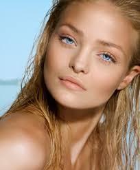 beachy makeup look