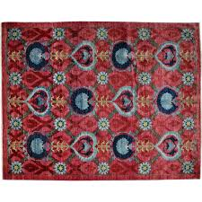 turquoise and red rug within vibrance overdyed wool area rugs solo architecture kitchen outdoor persian
