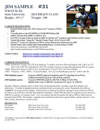 Resume Sample Resume For College Football Player resume for college football  player frizzigame sample frizzigame