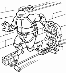 Turtle Coloring Pages Printable Colouring Teenage Mutant Ninja