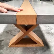 mitchell bink concrete design concrete coffe table