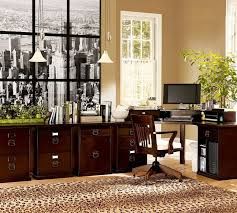 vintage office decor. Enchanting Interior Vintage Office Ideas Display Brilliant Wooden Computer  Desk Near Tentalizig Brown Tone Storage Cabinet Plus Endearing Flooring Carpet Vintage Office Decor