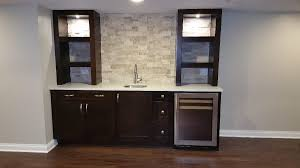 ... Cool Basement Dry Bar Barrington Basement Remodel Barts Remodeling  Chicago ...