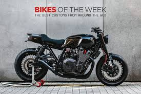 custom bikes of the week 18 march 2018 the best cafe racers scramblers