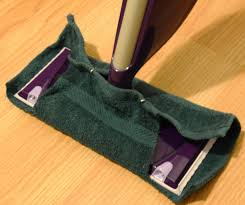 you re very own pad the velcro on the bottom of the swiffer really helps keep the facecloth from sliding around once you ve used it just toss it