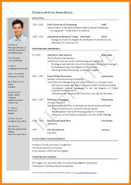 Curriculum Vitae Examples Enchanting Curriculam Vitae Example Goalgoodwinmetalsco