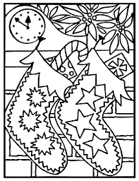 Small Picture Christmas Stockings Coloring Page crayolacom