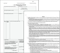Letter Of Origin Certificate Of Origin Form Template Final Ideastocker Example